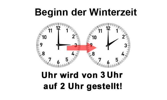 Uhr-umstellen