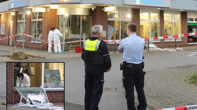 Geldautomaten Der Volksbank In Ubach Palenberg Gesprengt Zeugen Gesucht