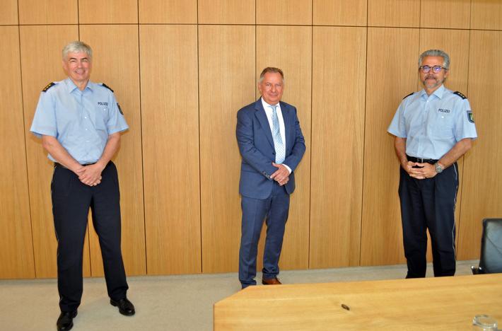 Verabschiedung Andreas Bollenbach und Begrüßung Dieter Prosch
